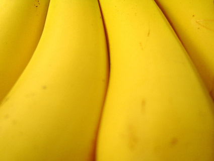 Featured banana quality picture material