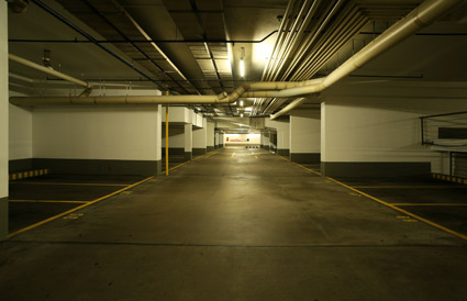 Underground parking picture material