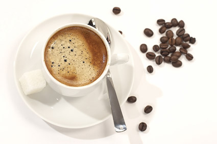 Coffee and coffee beans picture quality material