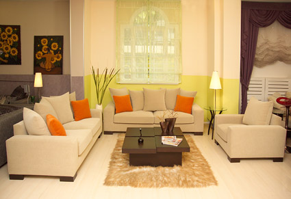 Modern living room boutique picture material-7