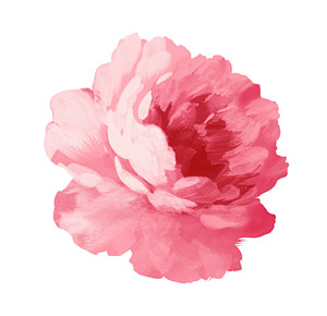 Hand-painted flowers layered material psd-4