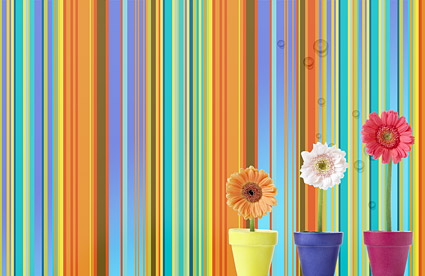 Summer Korean style background material layered psd-10