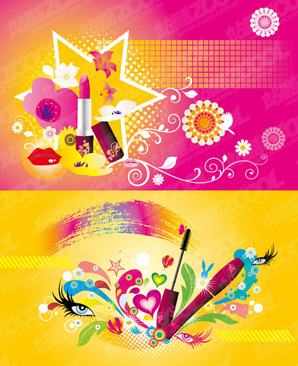 Theme color vector material