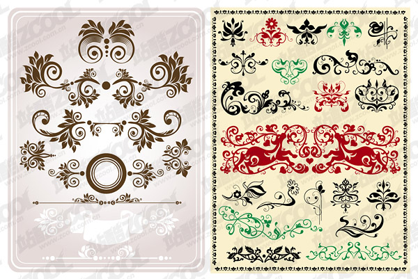 Practical classical pattern vector material