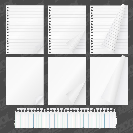 Notepad paper material