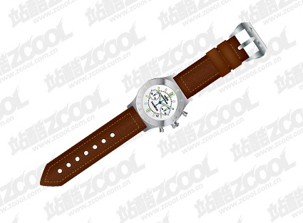 Vector watch material