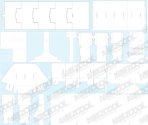 paragraph classic Daomo vector packaging material-2