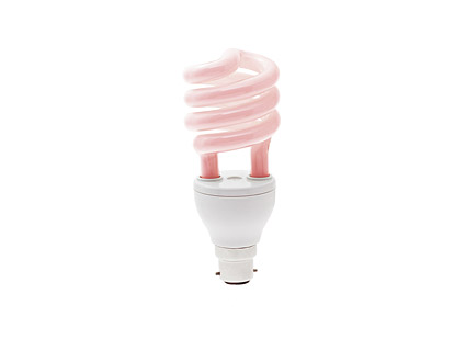 The energy-saving light pink picture material