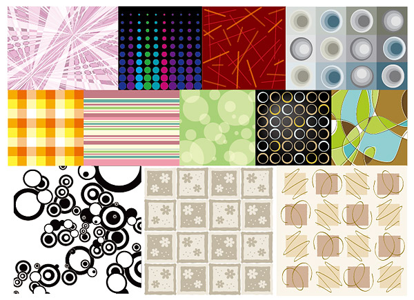 decorative and practical background material vector