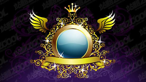 Crown pattern wings