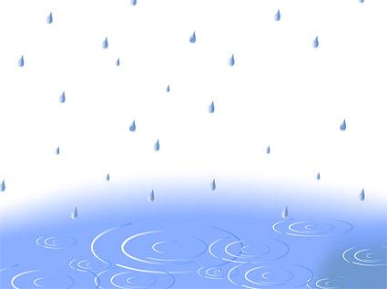 Rain ripple vector material