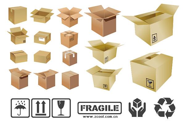 Vector carton material
