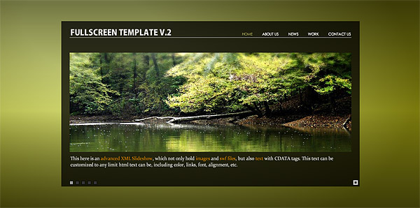 Worthy of site-wide flash + xml page template