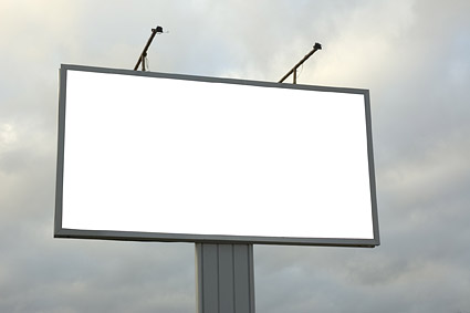 Blank large outdoor billboard picture material-5