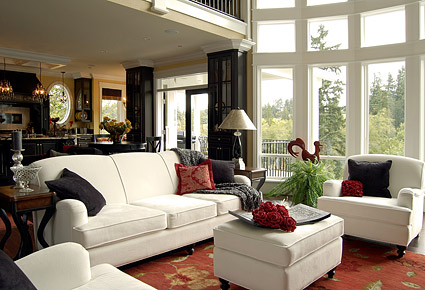 Beautiful home interior picture material-11