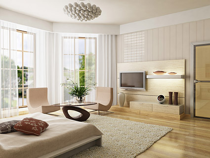 Beautiful home interior picture material-1