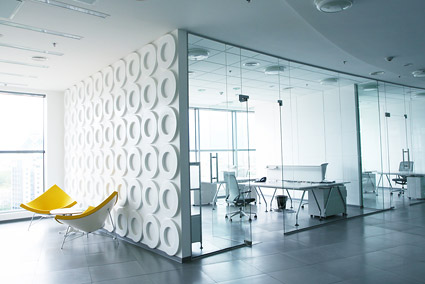 Office fashion bright picture material