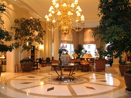 Gorgeous hotel lobby picture material-1