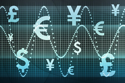 Currency movements picture material