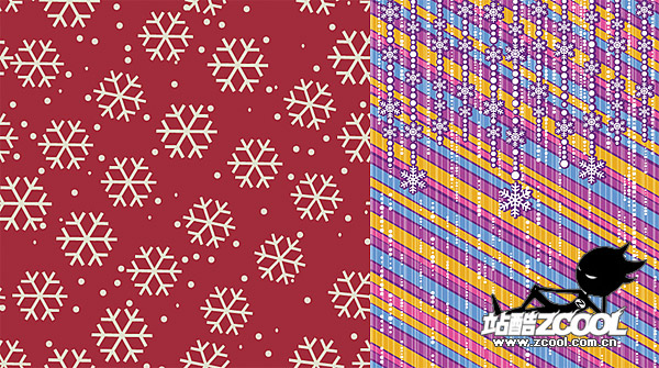 The background Snowflake 2 vector material