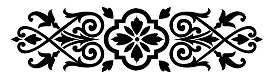 European-style lace Vector -2