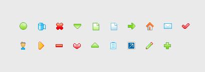 web design small icons gif