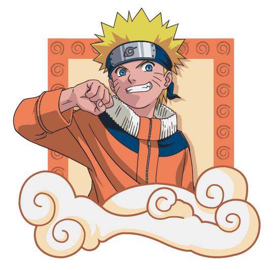 Naruto characters Vector material -1
