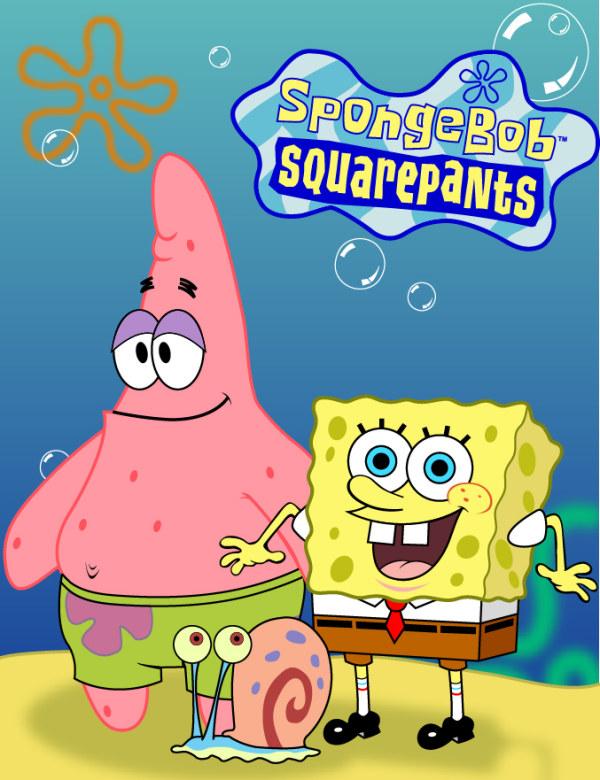 SpongeBob vector material