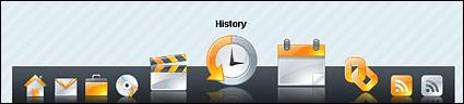 CSS + JS achieve the Macintosh (MAC) OS system navigation bar (blinding + realistic)