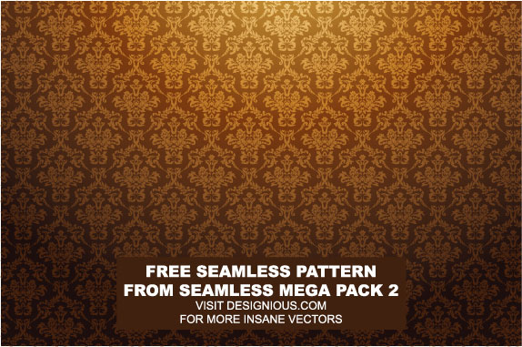 Ornate pattern vector