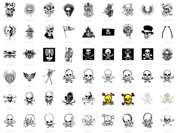 Skull, T-shirt designs, skeleton (54��)