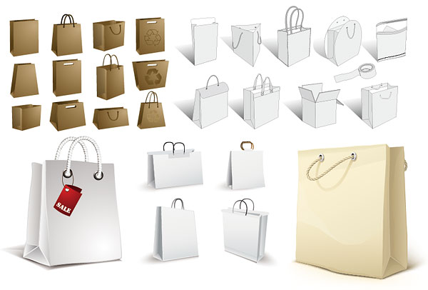 shopping bag ,paper bag ,kraft paper bag
