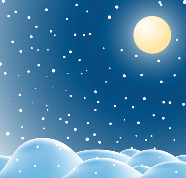 Snow Vector material -2