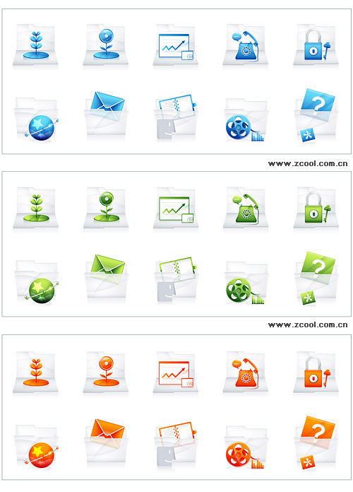 Today Series icon vector material-4