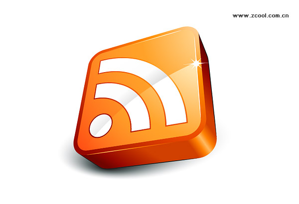 Rss icon Subscribe exquisite three-dimensional vector material