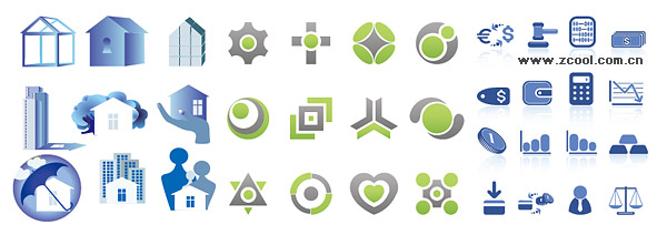 simple vector graphics icon material