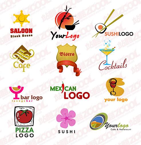 Cute logo vector graphic material
