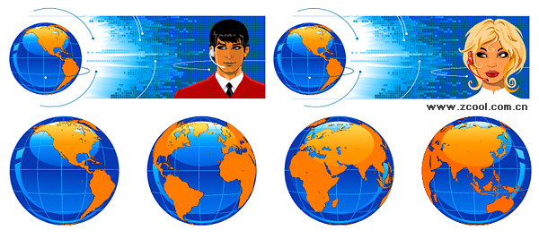 The Earth Science and Technology Support Vector material