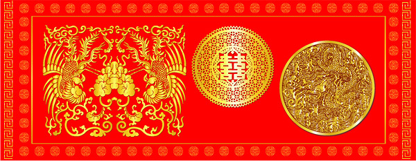 Chinese classical pattern vector material