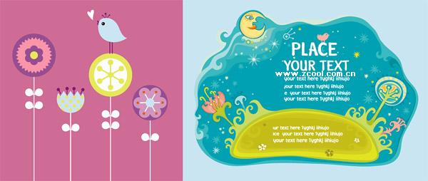 cute vector illustration material trends
