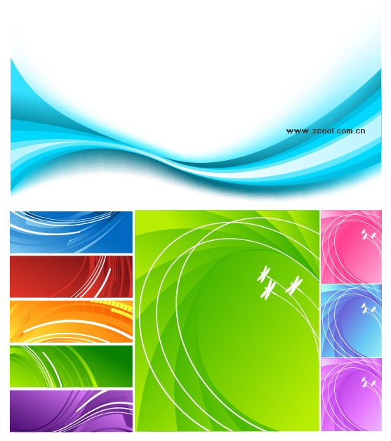 vector dynamic background material