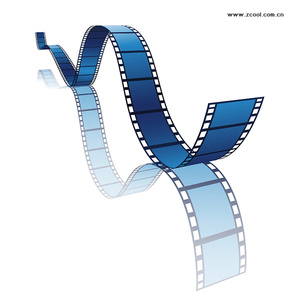 Vector dynamic film material