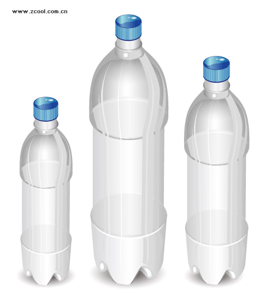 Vector bottle blank material
