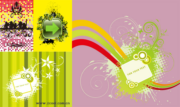 element vector pattern material