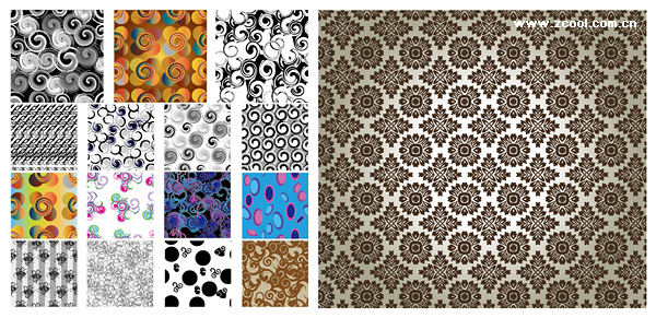 The context of a number of classical pattern vector material