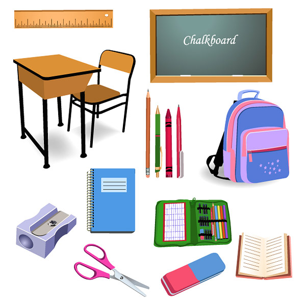 Stationery primary vector
