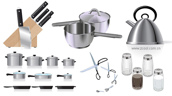 Kitchen vector material