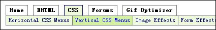 CSS horizontal navigation bar-9