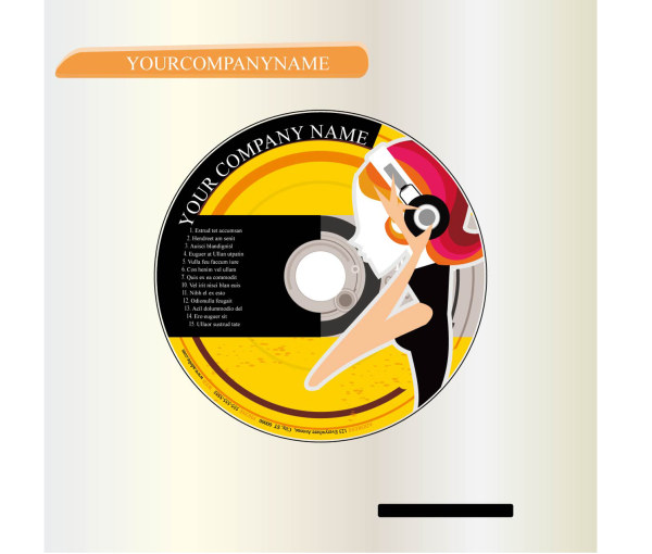 CD cover material