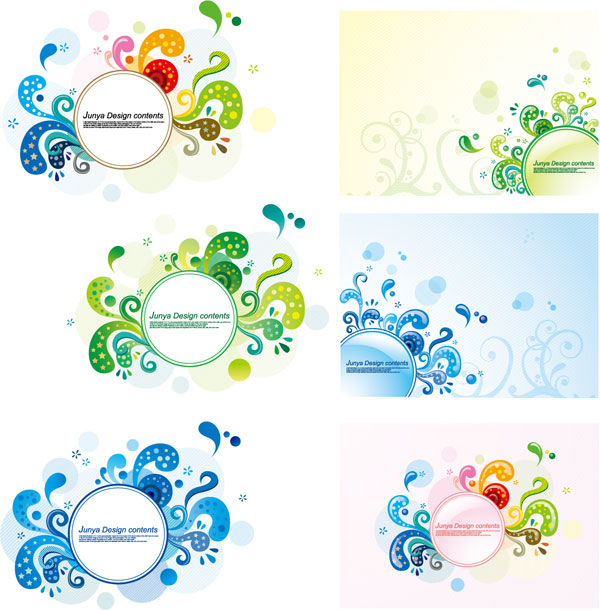 Elements of the trend pattern vector material-3
